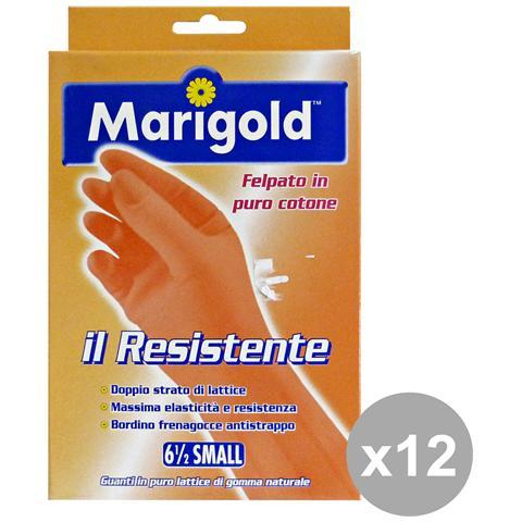 Marigold Set 12 Guanti Resistenti S Giardinaggiog