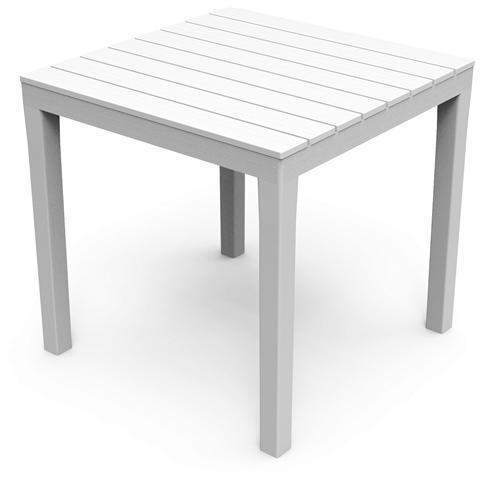Tavolo Quadrato Colore Bianco - Modello Bali