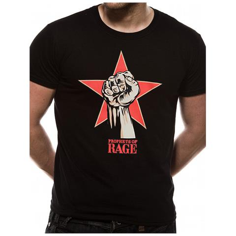 CID Prophets Of Rage - Power Fist (T-Shirt Unisex Tg. S)