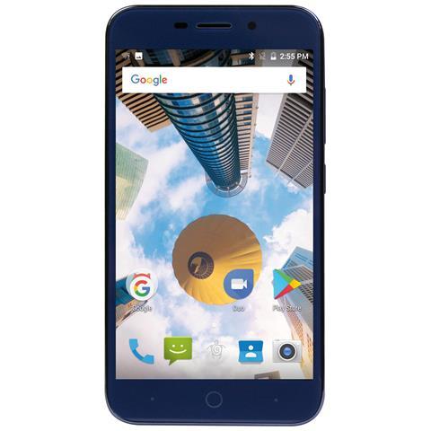"MEDIACOM PhonePad Duo G5M Blu 8 GB Dual Sim Display 5"" Slot Micro SD Fotocamera 5 Mpx Android Italia"