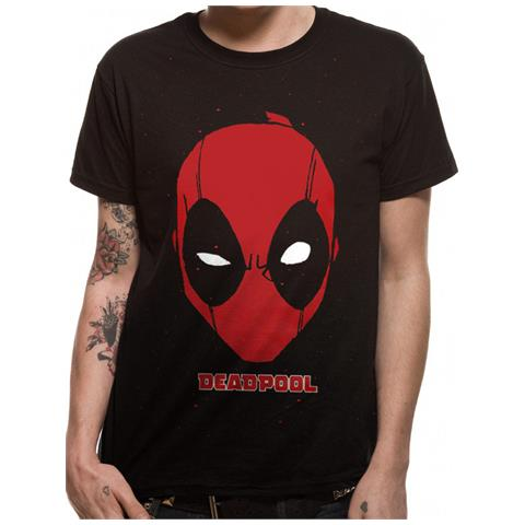 CID Deadpool - Portrait (T-Shirt Unisex Tg. M)