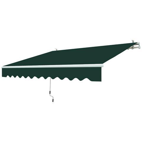 Tenda A Barra Quadra Da Esterno 200x250cm In Poliestere Ranieri Verde