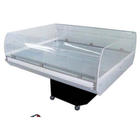 Bancarella refrigerata espositore per gelati e surgelati Dim. cm 115,6x111,5x91,5h Temp. +3 / +8°C