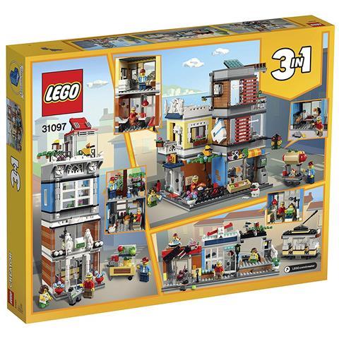 LEGO 31097 Creator 3in1 Negozio Degli Animali & Cafè.