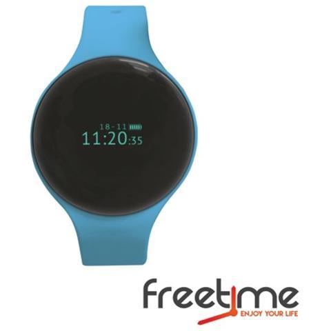 "Techmade Smartwatch FreeTime Display 0.66"" Bluetooth Blu - Italia"