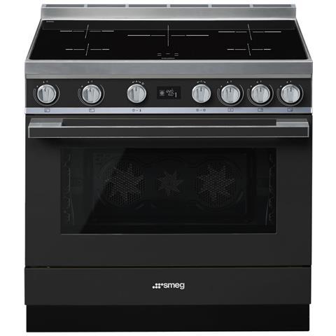 Cucina Elettrica CPF9IPAN 5 Zone di Cottura Forno Elettrico Dimensione 90 x 60 cm Colore A...