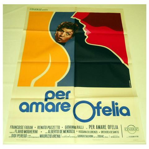 Vendilosubito Manifesto Originale Del Film Per Amare Ofelia - Renato Pozzetto