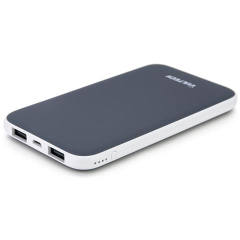 VULTECH PowerBank da 5000 mAh 1 x USB / Micro-USB Colore Grigio