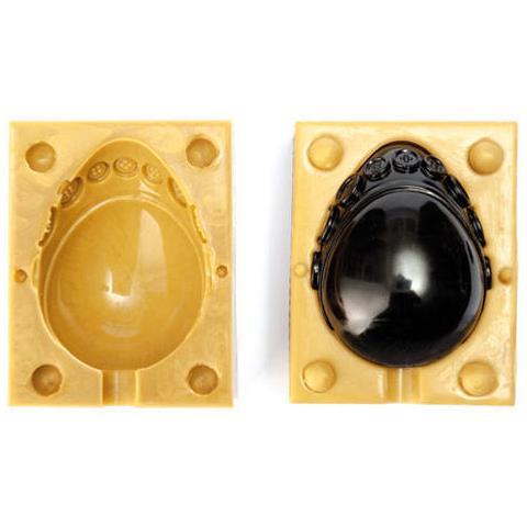 070201 - Sugarflex Gold 070201 Pasqua Uovo Bottoni H 130 Mm