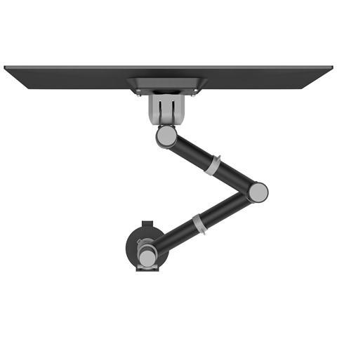 DATAFLEX Viewgo braccio porta monitor - scrivania 123, 75 x 75,100 x 100 mm, Nero, Schiuma, Acciaio, -50 - 90°