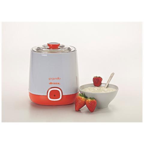 Yogurella 621 Yogurtiera Compatta Capacità 1 Litro Potenza 20 Watt Colore Bianco