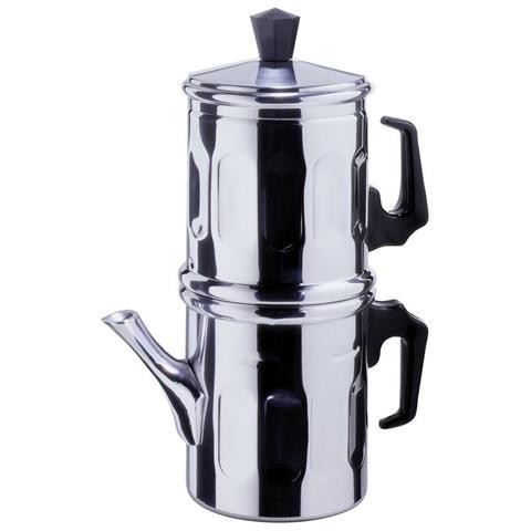 Caffettiera napoletana 1-2 tazze in alluminio