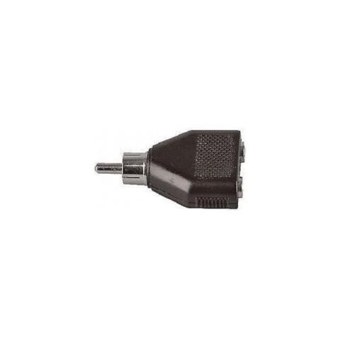 Plug & Sound Adattatore Audio Rca Maschio A 2 Jack 3.5mm Art. Q822