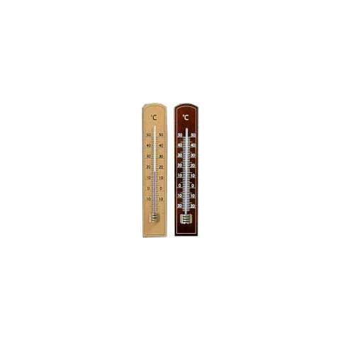 Termometro Legno Chiaro Eco 101015