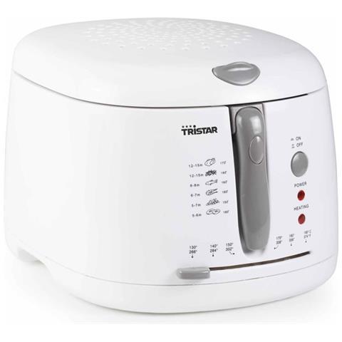 Friggitrice Classica FR-6904 Capacità 2.5 Litri 1600 Watt Colore Bianco