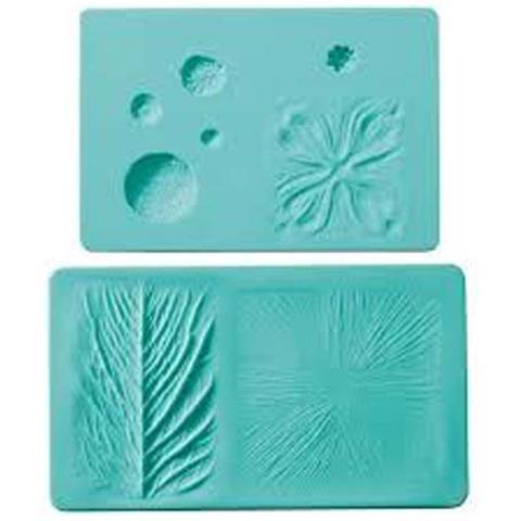Stampo silicone venature foglia / fiore
