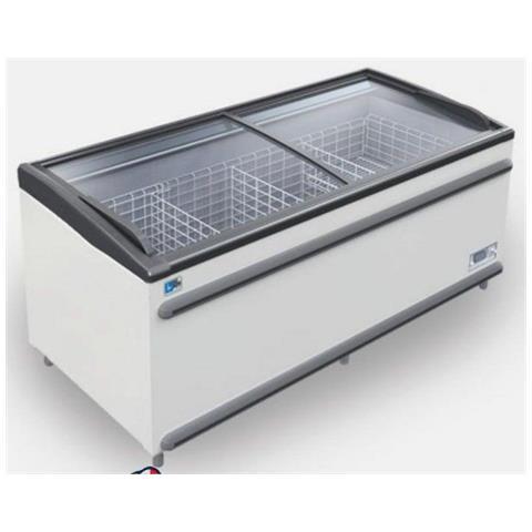 Espositore per gelati e surgelati Dim. cm 250,6x85,8x89h Temp. PT / NT