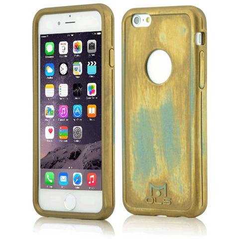 FONEX MOLS Limited Edition Gold Custodia Antiurto per Iphone 6 Plus / 6S Plus Sottile e Flessibile Made In Italy