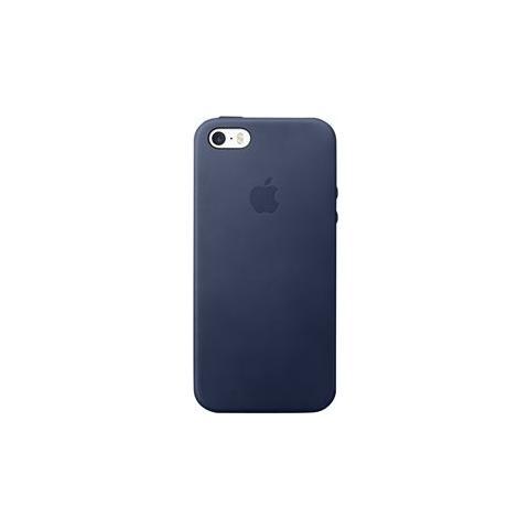 APPLE Custodia in Pelle per iPhone SE Colore Blu Notte