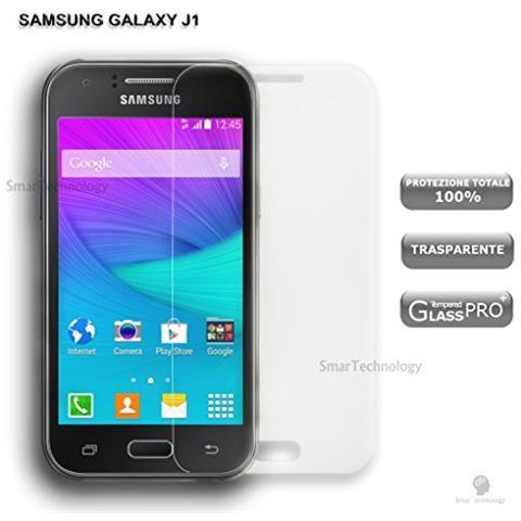 Smartechnology Pellicola Vetro Temperato Per Samsung Galaxy J1 J100 Trasparente Clear Proteggi Display Salva Schermo Touch Screen