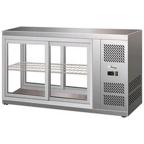 Vetrina Da Appoggio Refrigerata Afp / hav131 In Acciaio Inox