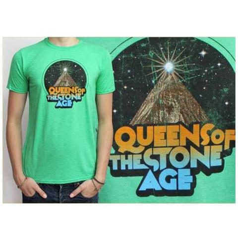 ROCK OFF Queens Of The Stone Age - Space Mountain (T-Shirt Unisex Tg. 2XL)