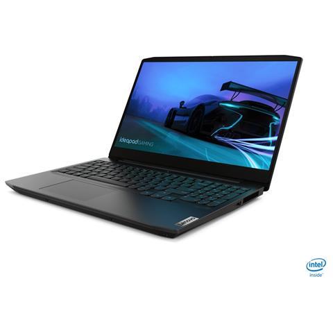 Image of Notebook IdeaPad Gaming 3 Monitor 15.6'' Full HD Intel Core i5-10300H Quad Core Ram 8GB SSD 512GB Nvidia GeForce GTX 1650 Ti 4GB 3xUSB 3.0 Windows 10 Home