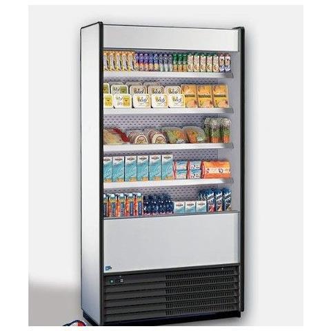 Espositore murale per prodotti refrigerati Dim. cm 96,5x59x198,6h Temp. +4 / +8°C