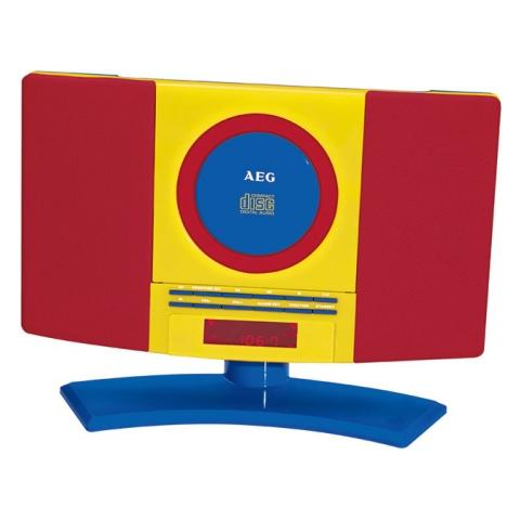 AEG MC 4463 Kids Line, Digitale, PLL, Lettore, CD, CD-R, CD-RW, Ripeti, Ripeti tutto, LCD