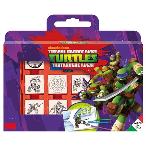 BINNEY SMITH Valigetta Ninja Turtles con 7 Timbri