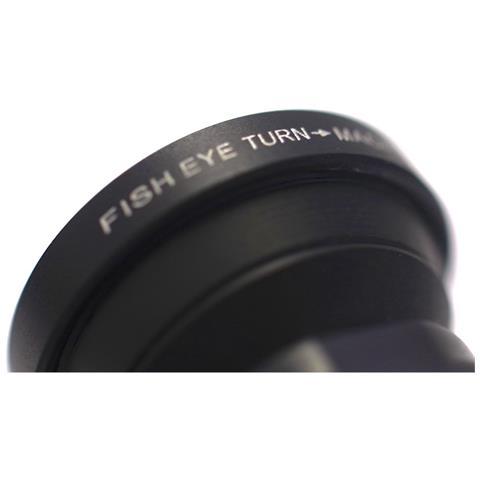 S+Mart SMART Triple Lens 3in1 Wide Fisheye Macro per Iphone 5 rosso
