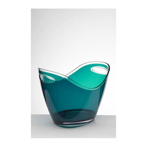 Portaghiaccio Culla Acrilico 27x35 H 26 Cm Colore Verde