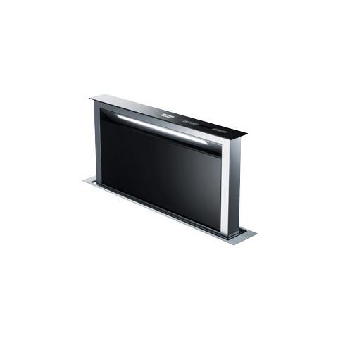 Image of Cappa Integrata al Piano di Lavoro FDW 908 IB XS 88 cm Colore Cristallo Nero e Inox
