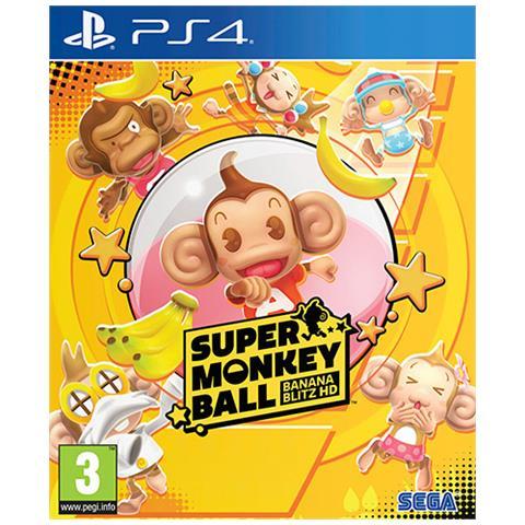 SEGA PS4 - Super Monkey Ball Banana Blitz HD