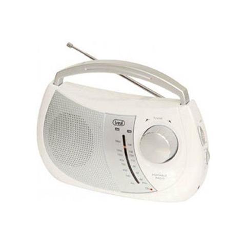 TREVI 0076401-radio Mono -radio Port. 2bande Am / Fm Trendy Bianco
