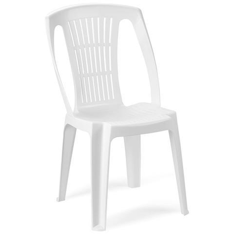 Sedia da Giardino Colore Bianco - Modello Stella