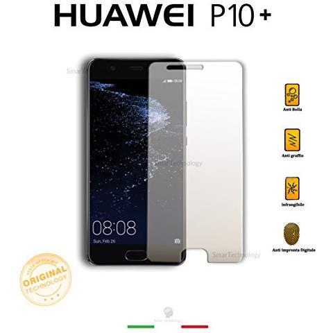Smartechnology Pellicola Vetro Temperato Trasparente Huawei P10 Plus Con Display Da 5.5 Pollici Salva Schermo Con Kit Applicazione E Guide