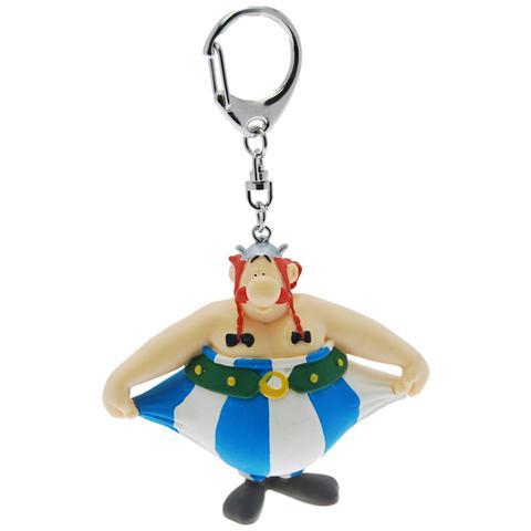 Plastoy 60388 - Asterix - Portachiavi Obelix Tira Pantaloni