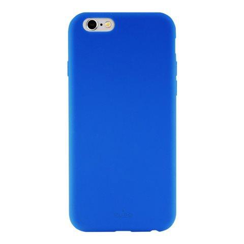 PURO Cover in Silicone Liquido per iPhone 6/6S Colore Blu