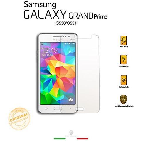 Smartechnology Pellicola In Vetro Temperato Per Samsung Galaxy Grand Prime G530 / g531 Protezione Totale Display Schermo Con Kit Applicazione