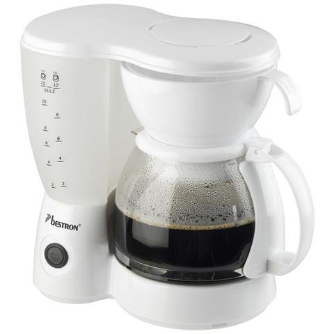 Macchina Caffè Americano 800 W Bianca Acm6081w