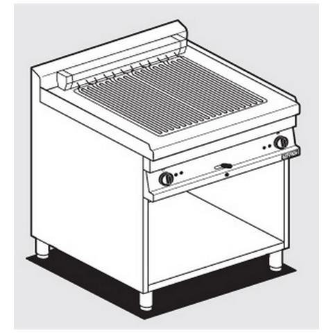 Piastra Elettrica Per Cucina Professionale Afp / cwk-78et