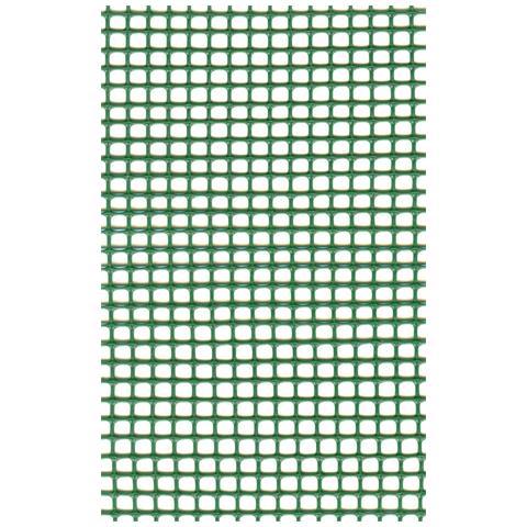 Rete Protettiva Per Balconi A Maglia Quadra Mm 5x5 Altezza 100 Cm Verde 50 Mt