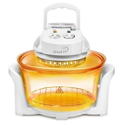 GenioPiù CL263 Fornetto Alogeno Ventilato Potenza 1300 Watt Capacità 12 Litri