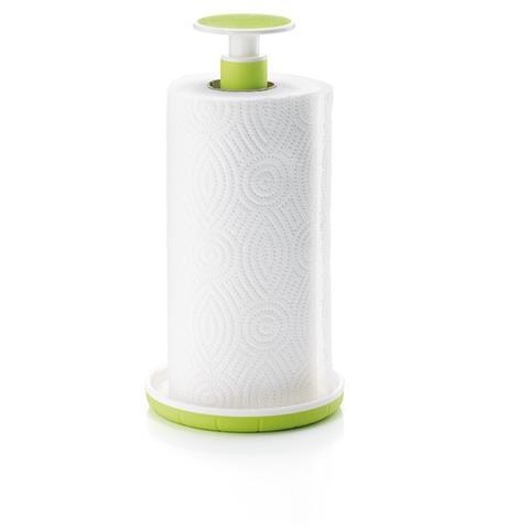 Fratelli Guzzini Push&Stop Tabletop paper towel holder Acrilonitrile butadiene stirene (ABS), Gomma termoplastica (TPR) Verde