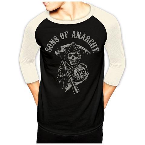 CID Sons Of Anarchy - Logo Baseball (T-Shirt Unisex Tg. S)