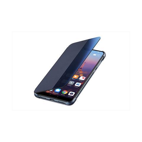 HUAWEI Flip Cover Custodia Window Book Huawei P20 colore Blu