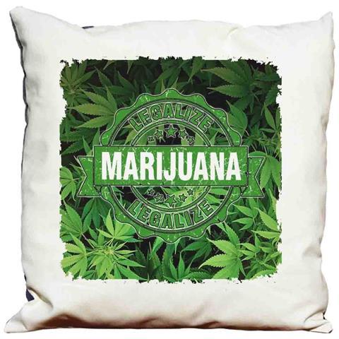 Cuscino Decorativo Marijuana Rasta 2