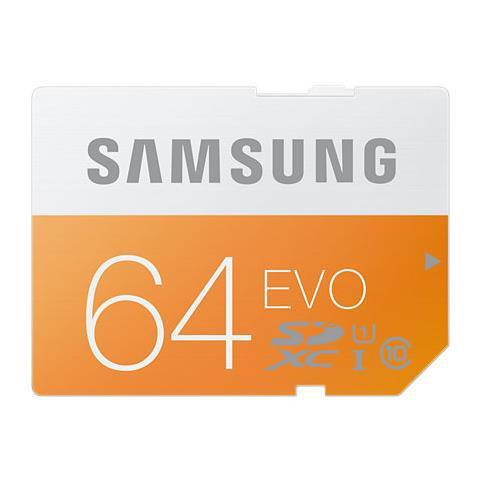 Secure Digital 64GB Ultra High Speed SDHC Class 10 - Arancione / Bianco