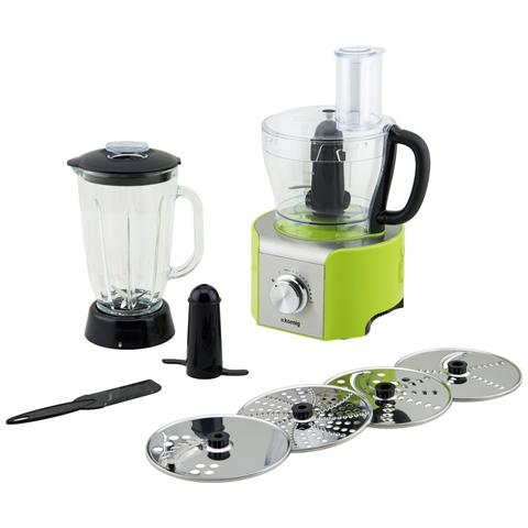 MX18 Robot da Cucina Potenza 800 Watt Capacità 1,5 Litri Colore Verde